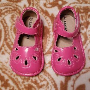 eab6a410d9 Laniecakes Shoes - Laniecakes Squeaker Shoes Pink size 7